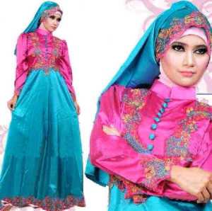 Gamis Satin Princess