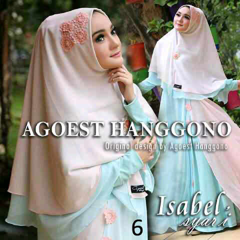 Busana Muslim Pesta Isabel By Agoest Hanggono  6