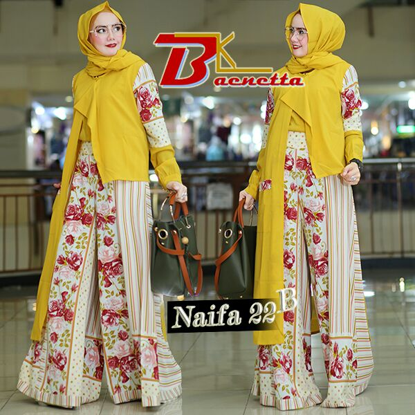 Naifa 22B by By aenetta Yellow