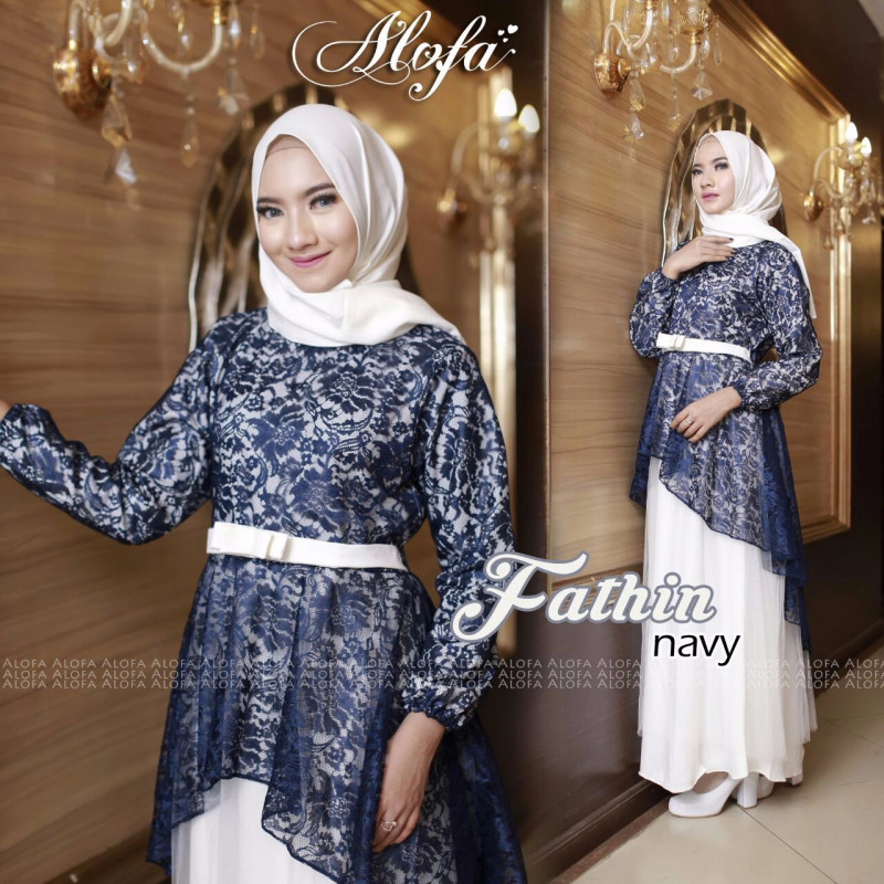 fathin_eksklusif_gamis_busana_muslim_dress_pesta_brukat_pasmina_by_alofa_navy