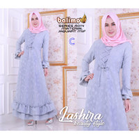 gamis modern Lashira dress by balimo collection C