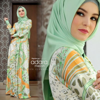 gamis terbaru adara dress by cynarra melon