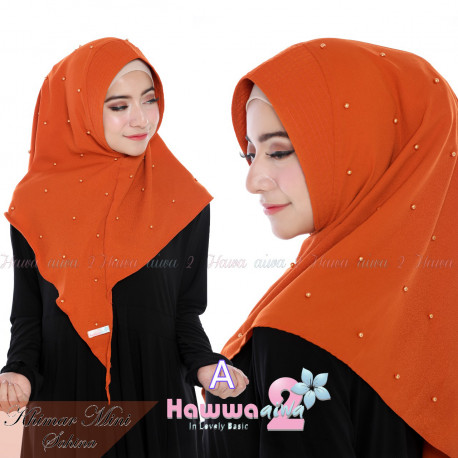 model hijab khimar mini sahina A