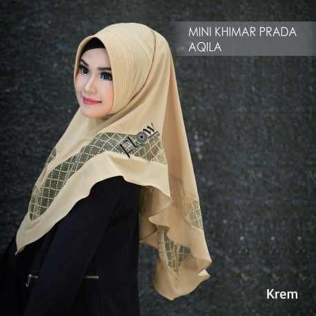 mini-khimar-prada-aqila cream