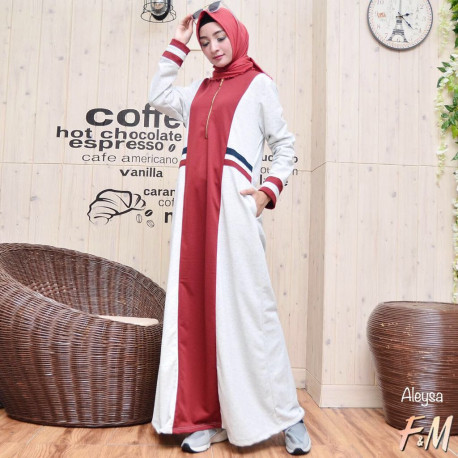 Aleysa Dress Red