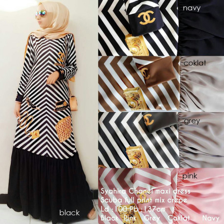 Chanel Dress Syahira