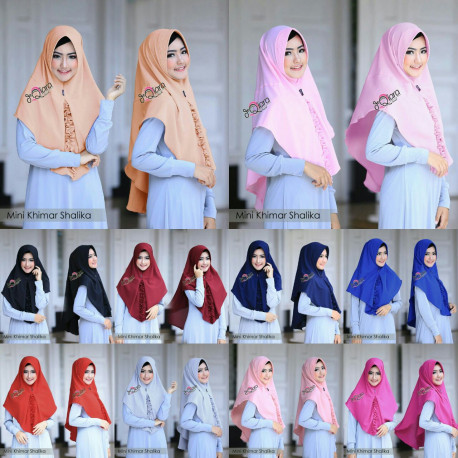 Mini Khimar Shalika by Dqiara