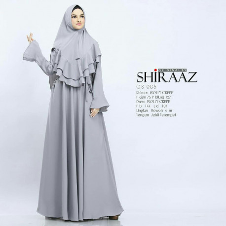 Shiraaz Gs085 Grey