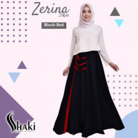 Zerina Skirt Black Red