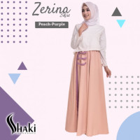 Zerina Skirt Peach Purple
