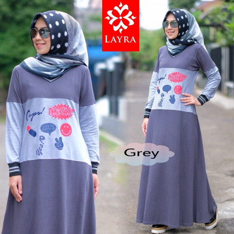 Kayla Dress Grey