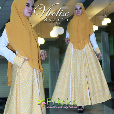 Vhelix Syari Soft Yellow