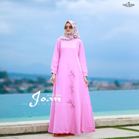 Joan Dress Dusty Pink