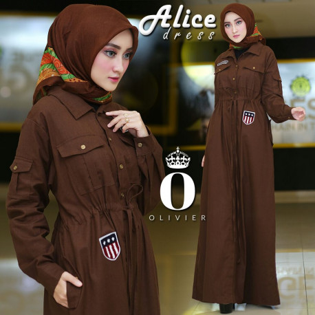 Alice Dress Choco