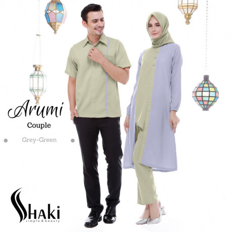 Arumi Couple Grey Green
