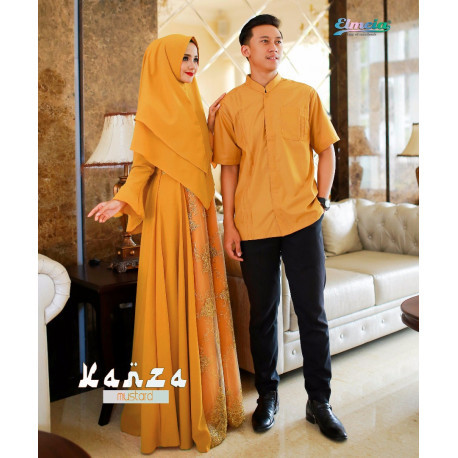 Kanza Couple Mustard