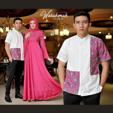 Warahmah Couple Fuchsia