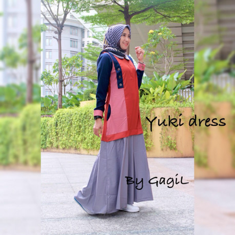 Yuki Red Grey