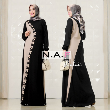 Balqis Dress Black