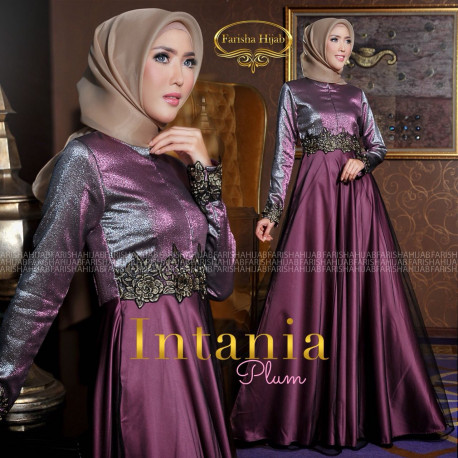 Intania Dress Plum