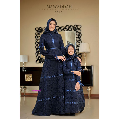 Mawaddah Couple Navy
