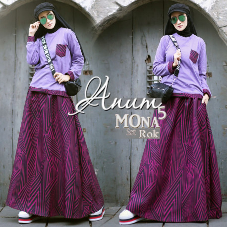 Mona Set 5 Purple