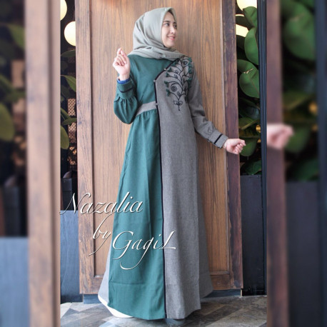 Nazalia Green Grey