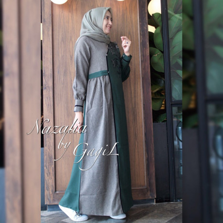 Nazalia Grey Green