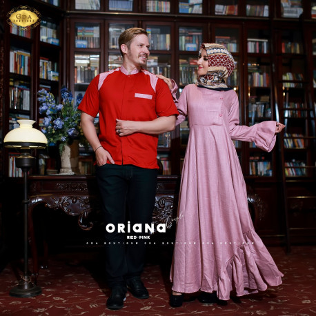 Oriana Couple Red Pink