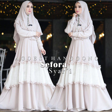 Sefora Syari Cream White