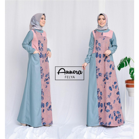 Felya Dress Blue Mint