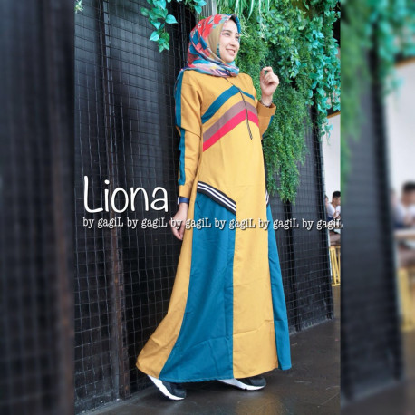Liona Dress Yellow