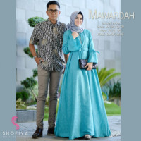 New Mawardah Couple Blue
