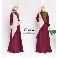 Rumi Dress Maroon