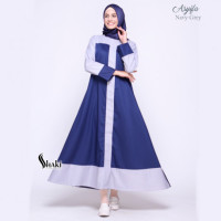 Asyifa Navy Grey