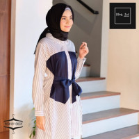 Afra Navy Cream