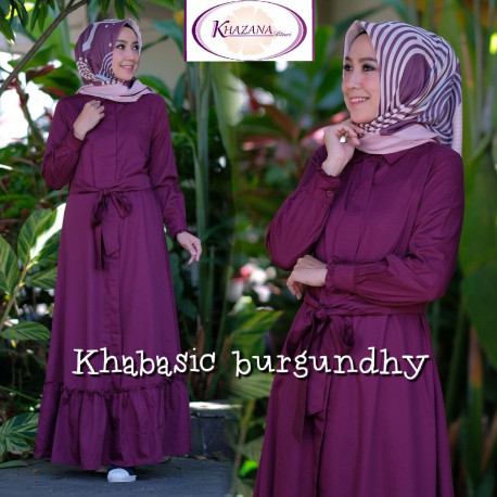 Khabasic Burgundy
