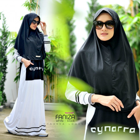 Faniza White Black
