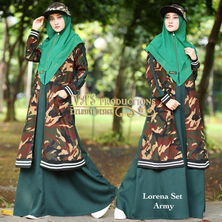 Lorena Dark Green