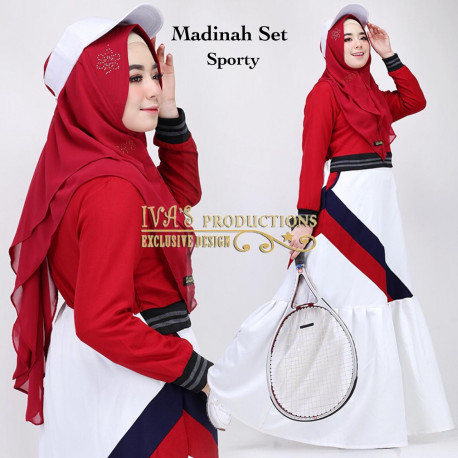 Madinah Sporty Maroon