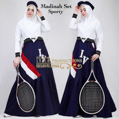 Madinah Sporty White