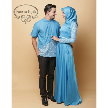 Nizami Couple Blue