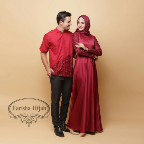 Nizami Couple Maroon