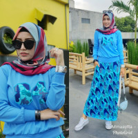 Set Keey Armi Blue
