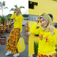 Set Keey Armi Yellow