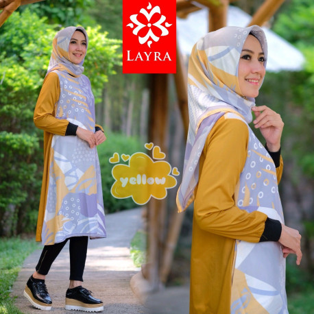Silky Tunik Yellow