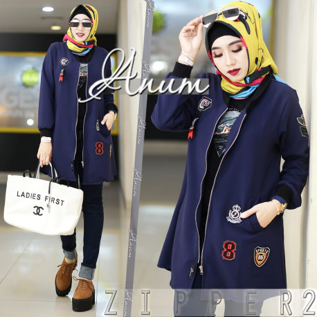 Zipper 2 Navy