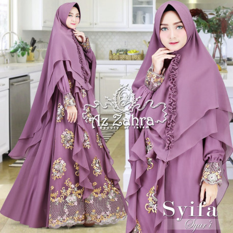 Syifa Syar'i Purple