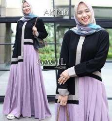 Afikah Dress Lavender