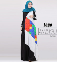 Lego Dress Black